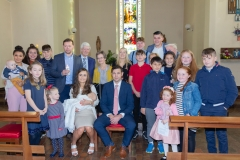 Godparents, Hunter's and Healy's